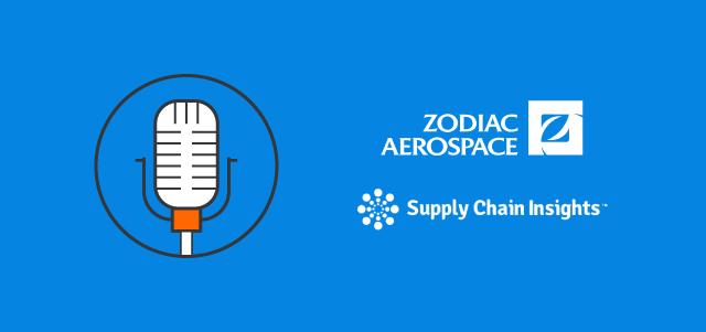 microphone zodiac aerospace supply chain insights logos