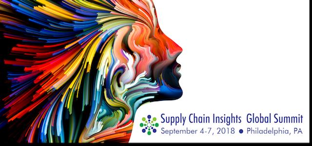 supply chain insights global summit 2018